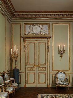 Grand Salon from the Hôtel de Tessé, Paris ~ now located in the Metropolitan Museum of Art NYC