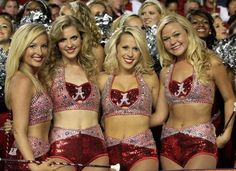 Merry XMas from the Alabama Alabama College Football, College Cheerleading, Cheerleading Uniforms, Football Cheerleaders, Nfl Football, American Football, Alabama Crimson Tide, Crimson Tide Football, Professional Cheerleaders