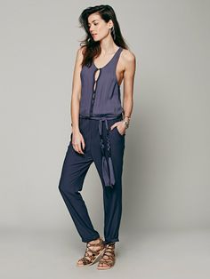 9613ccde0105d NEW FP Angelica jumpsuit NWOT silky