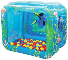 Ball Pit Playpen Toddler Kids Activity Play Pen Balls Activity Finding Dory Toy #MooseMountain