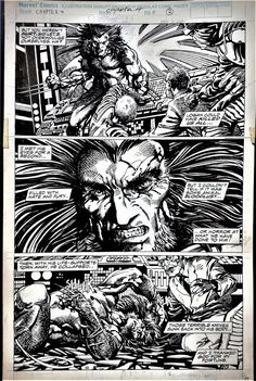 Marvel Comics Presents - Weapon X #75 page 2 - Wolverine by Barry Windsor-Smith Comic Art