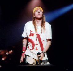 Guns N' Roses, Axl Rose, Use Your Illusion World Tour 1991-93