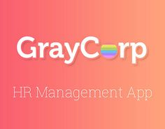 """Check out new work on my @Behance portfolio: """"GrayCorp App """" http://be.net/gallery/33321457/GrayCorp-App-"""