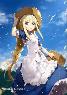 Sword art online Alice de Alicization beginning