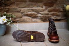 Chippewa Service Boot - Cordovan