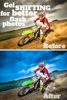 Gel Shifting (Flash Photography 101) - Improve Photography