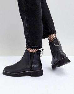 7157dfe968d Shop ASOS DESIGN Aria Chunky Chelsea Ankle Boots at ASOS. Discover fashion  online. #