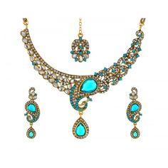 Fantosy Alloy Jewel Set(Multicolor)  #Jewellery #OnlineJewelleryShopping #JewelleryOnline #LadiesJewelleryOnline #FashionJewellery