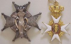 """Swedish Orders and Honours 