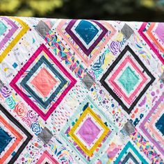 Linework Quilt Holly Degroot Quilter's Cotton from Brush Strokes by Holly…