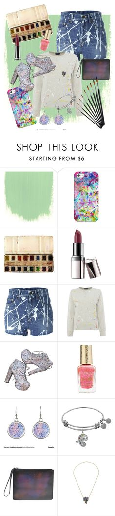 """""""Splatter"""" by faith313 ❤ liked on Polyvore featuring Casetify, Barry M, Yves Saint Laurent, Polo Ralph Lauren, Jeffrey Campbell, Christopher Kane, Color, colorful and paint"""