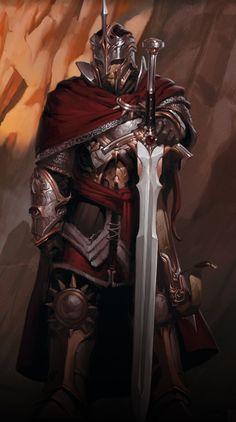The legendary paladin, Kleef Kenric.
