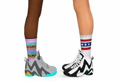 By request, I've converted chunkysims' Kamikazee sneakers for females, teen through elder. They are fully recolor-able. Enjoy! DOWNLOAD (sims3pack & package files) Credit: ChunkySims