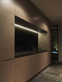 A-G House / dKO Architecture. Utility room, if inside with 'creative lighting' - not a just corridor with no windows!