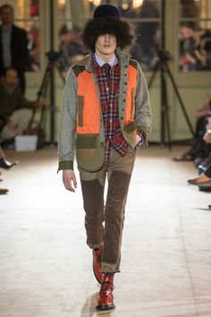 Junya Watanabe | Fall 2014 Menswear Collection | Style.com