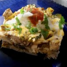 Always looking for another way to use zucchini!!! - Tortilla Zucchini Casserole Allrecipes.com