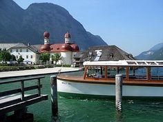 Schonau and the lake Konigsee