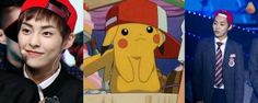 Pikachu Xiumin! We Love YOU