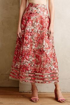 Strawberry Hill Skirt - anthropologie.com $198