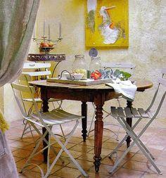 Casinha colorida: Cantinhos apaixonantes para as refeições