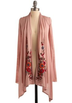 Flowers in the Wind Cardigan