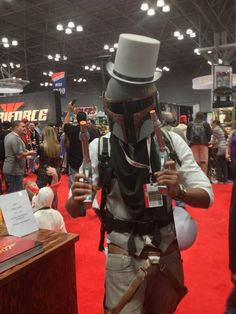 The Classiest Boba Fett Cosplay