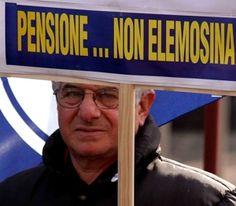 In Italia pensioni minime al di sotto della media Ue di oltre il 40%, anziani non garantiti: http://www.lavorofisco.it/?p=20012
