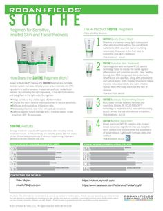 Rodan + Fields Soothe Perfect for babies, psoriasis, eczema and rosacea!  visit www.kris4u.myrandf.com and repin!