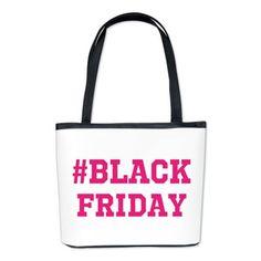 Black Friday Shopping Bucket Bag