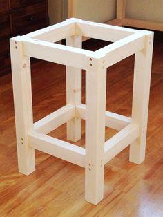 Diy Furniture Nightstand, Diy Furniture Plans, Wood Patio Furniture, Woodworking Furniture, Furniture Projects, Furniture Design, Woodworking Projects Diy, Diy Wood Projects, Long Chair