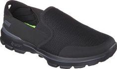 0f7e6ef95c0f Skechers Men s GOwalk 3 Charge Slip On Black Size 11.5 M