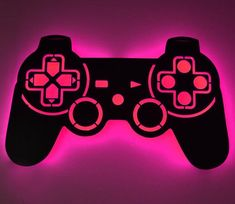Play Stations, Cincinnati, Gamer Bedroom, Game Room Decor, Wall Outlets, Color Changing Led, Vinyl Cutting, Off The Wall, Video Game Art