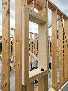 Flatrock Passive: Framing and Air Sealing - GreenBuildingAdvisor Framing Construction, Shed Construction, Passive House Design, Diy Storage Shed, Building Renovation, Shed Design, Building A Shed, Wooden House, Shed Plans