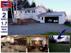 One Owner, Near Lakes, Golf Course Too! 2 Bath New Limerick Maine Home. $119,500! VIDEO  http://mooersrealty.com/listing-8298.html