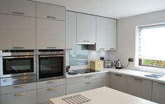 Having downsized properties, this couple turned to Kitchen Design Centre for some help in creating a wow-factor designer kitchen. Kitchen And Bath, New Kitchen, Kitchen Dining, Kitchen Cabinets, Dining Room, German Kitchen, House Extensions, Flexibility, Centre