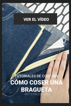 How to sew a front fly zipper for pants Nail Tutorials, Sewing Tutorials, Sewing Projects, Sewing Patterns, Sewing Clothes, Diy Clothes, Diy Shops, Simple Pictures, Korean Street Fashion