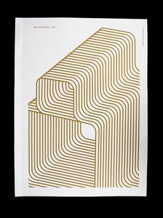 Wolfram Typeface by Ida Kristine Gismervik, via Behance