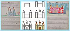 Five for Friday June 6th- How to Draw a Castle Freebie