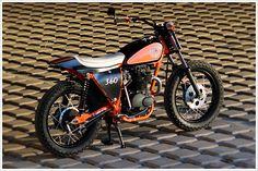 1974 Honda CL360 - Josh MottRacing - Pipeburn - Purveyors of Classic Motorcycles, Cafe Racers & Custom motorbikes