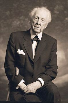 Frank Lloyd Wright at 89. Photographed by Reierson Studio on July 10, 1956.