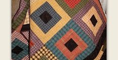A Great Pattern for Recycling Mens Shirts! A beautiful array of plaids make a stunning quilt. Men will love this quilt and most women will too. Soften the colors for a quilt anyone will enjoy. The black center squares and border set off the vibrant prints beautifully. However, another color may work better with your …