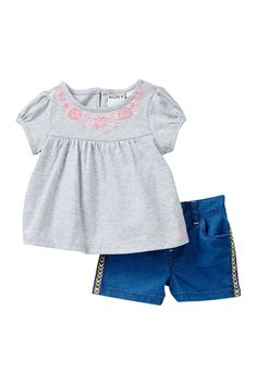 Trilla Short 2-Piece Set (Baby Girls)