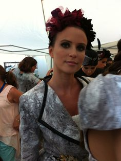 Maquillaje de la pasarela vejer fashion weekend