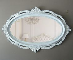 XXL Hollywood Regency Ornate Mirror, Shabby Chic Mirror. $598.00, via Etsy.