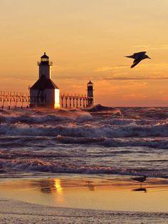 Sunset at St. Joe ,Michigan| Flickr - Photo Sharing!