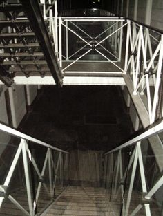 Creepy stairwell.