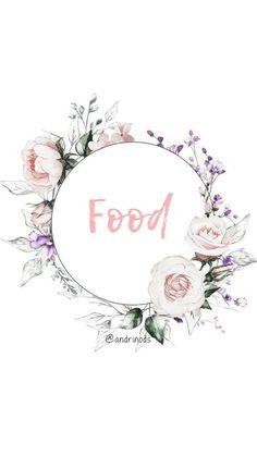 Instagram Logo, Free Instagram, Instagram Tips, Instagram Story Template, Instagram Templates, Story Highlights, Tumblr Stories, Food Template, Food Icons