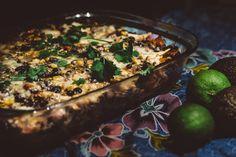Hellan ja viinilasin välissä: Texmex-tortilla vuoka