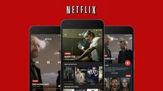 Netflix Material Redesign App concept on Behance
