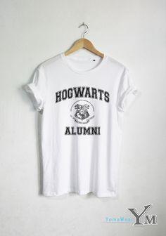Hogwarts Alumni shirt Harry Potter t shirt Harry Potter clothing Unisex tshirt tumblr shirts
